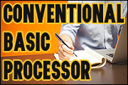 Conventional Basic Processor