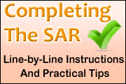 Completing The SAR: Line By Line