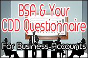 BSA Series: Growing Your CDD Questionnaire For Business Accounts
