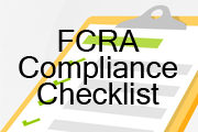 Fair Credit Reporting Act: Compliance Checklist