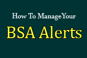 BSA Officer Series: Managing Your BSA Alerts