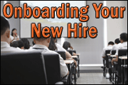 Onboarding Your New Hire