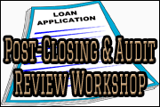 Post-Closing &Audit Review Workshop