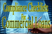 Best-Ever Compliance Checklists for Commercial Loans