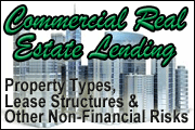 Commercial Real Estate Lending: Property Types, Lease Structures and Other Non-Financial Risks
