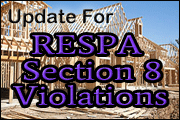 Update On RESPA Section 8 Violations