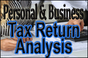 Basic Personal And Business Tax Return Analysis